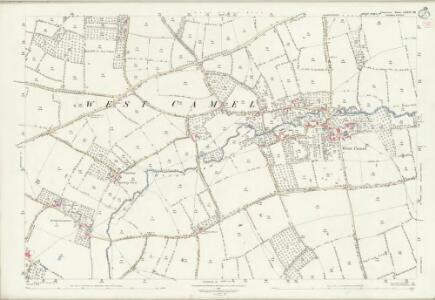 Somerset LXXIV.10 (includes: Queen Camel; West Camel; Yeovilton) - 25 Inch Map