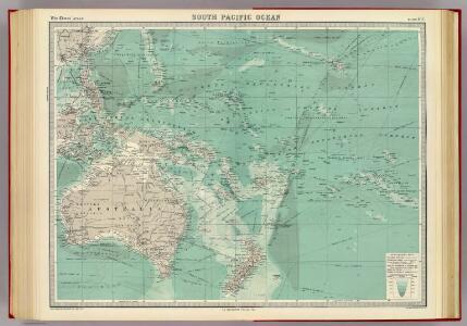 South Pacific Ocean.