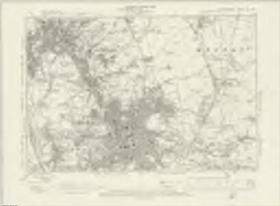 Staffordshire XII.SW - OS Six-Inch Map