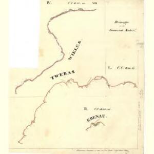 Sahorz - c9054-1-001 - Kaiserpflichtexemplar der Landkarten des stabilen Katasters
