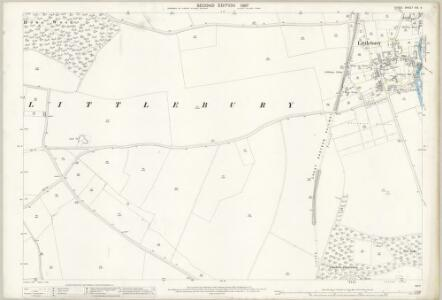 Essex (1st Ed/Rev 1862-96) VIII.4 (includes: Littlebury) - 25 Inch Map