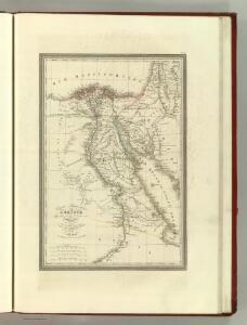 Carte Particuliere de l'Egypt.