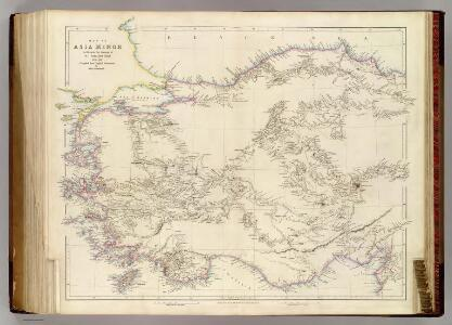 Map of Asia Minor.