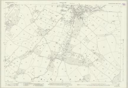 Gloucestershire XVII.14 (includes: Newent; Oxenhall) - 25 Inch Map