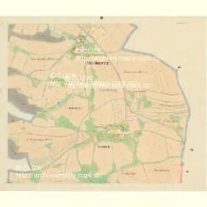 Daubrawitz - c1464-1-002 - Kaiserpflichtexemplar der Landkarten des stabilen Katasters