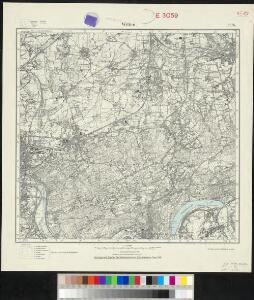 Messtischblatt 2578 : Witten, 1926 Witten