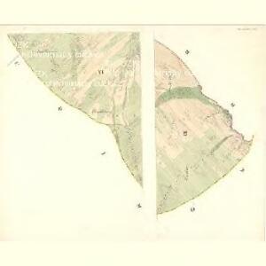 Slawitschin und Mladotitz - m2770-2-005 - Kaiserpflichtexemplar der Landkarten des stabilen Katasters