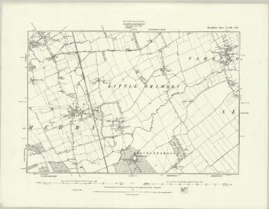 Lincolnshire XLVIII.SE - OS Six-Inch Map