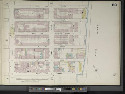 Manhattan, V. 4, Double Page Plate No. 82  [Map bounded by E. 52nd St., East River, E. 47th St., 2nd Ave.]