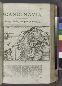 Scandinavia, comprehending Norway, Sueden, and part of Denmark.