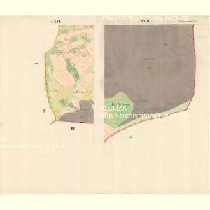 Alt Hrosenkau (Stary Hrasenkow) - m2868-1-017 - Kaiserpflichtexemplar der Landkarten des stabilen Katasters