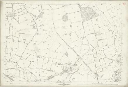 Staffordshire XXIX.4 (includes: Eccleshall; Swynnerton) - 25 Inch Map