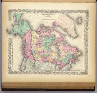 British, Russian & Danish Possessions In North America.