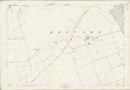 Leicestershire XIII.8 (includes: Croxton Kerrial; Sproxton; Waltham) - 25 Inch Map