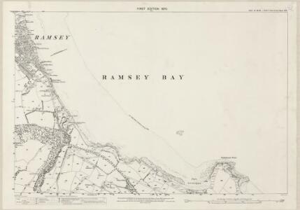 Isle of Man V.11 - 25 Inch Map
