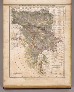 Karnthen, Krain, Gorz-Gradisca, Istrien, Triest.