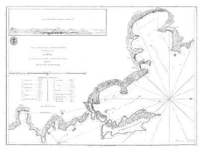 Plan of Muscat Cove and Mutrah Harbour, surveyed in 1785