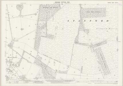 Norfolk LXXXIII.15 (includes: Lynford; Stanford) - 25 Inch Map