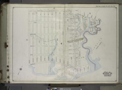 Brooklyn, Vol. 1, 2nd Part, Double Page Plate No. 50; Part of Wards 26, Section 14; [Map bounded by Vandalia Ave., Fountain Ave., Vandalia Ave.; Including Spring Creek, Jamaica Bay, Jerome St.] / by and under the direction of Hugo Ullitz.