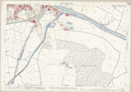 Yorkshire CCXXI.11 (includes: Barlby; Barlow; Brayton; Selby) - 25 Inch Map