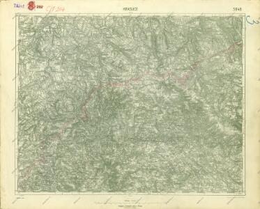 III. vojenské mapování 3849