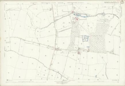 Huntingdonshire XXIV.12 (includes: Bolnhurst and Keysoe; Colmworth; Eaton Socon; Great Staughton; Little Staughton) - 25 Inch Map