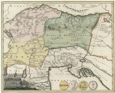 Vindelicia, Rhetia et Noricvm