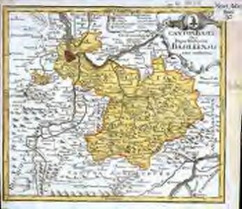 Canton Basel sive pagus Helvetiæ Basileensis cum confinibus