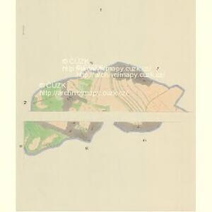 Daubrawitz - c1464-1-001 - Kaiserpflichtexemplar der Landkarten des stabilen Katasters