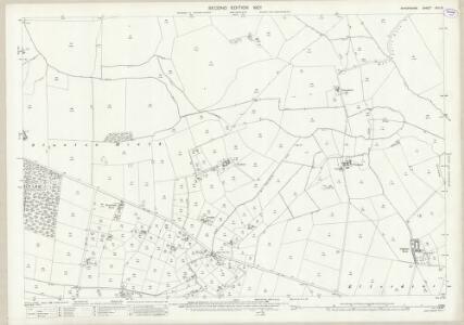 Shropshire XXII.15 (includes: Ercall Magna; Shawbury; Stanton Upon Hine Heath) - 25 Inch Map