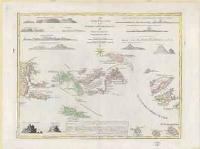 The Virgin Islands from English and Danish surveys