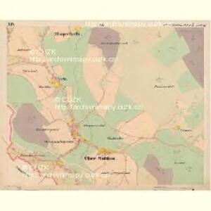 Moldau Ober - c2176-1-014 - Kaiserpflichtexemplar der Landkarten des stabilen Katasters