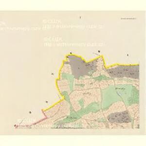 Kwaschniowitz (Kwassniowic) - c3746-1-001 - Kaiserpflichtexemplar der Landkarten des stabilen Katasters