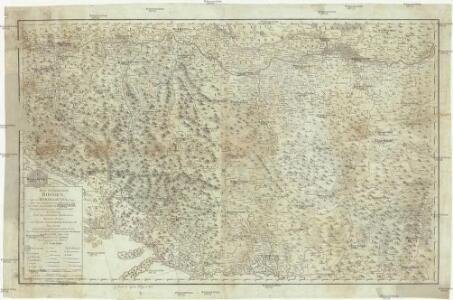 Das Koenigreich Bosnien, und die Herzegovina (Rama) samt den angraenzenden Provinzen von Croatien, Sclavonien, Temesvar, Servien, Albanien, Ragusa und dem Venetianischen Dalmatien