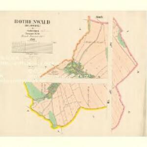 Bothenwald (Butowice) - m0304-1-001 - Kaiserpflichtexemplar der Landkarten des stabilen Katasters