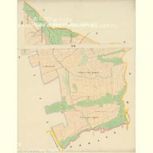 Taus (Domazlice) - c1433-1-012 - Kaiserpflichtexemplar der Landkarten des stabilen Katasters