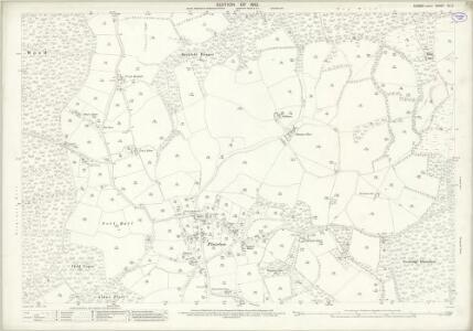 Sussex XII.5 (includes: Plaistow) - 25 Inch Map