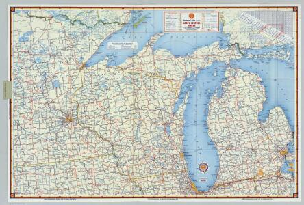 Shell Sectional Map No. 6 - North Central States.