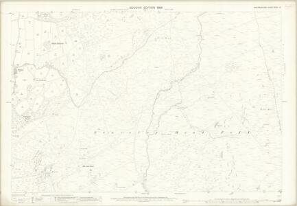 Westmorland XXVII.14 (includes: Hugill; Kentmere; Longsleddale; Over Staveley) - 25 Inch Map