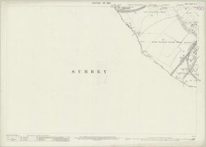 Kent XV.2 (includes: Beckenham; Croydon St John The Baptist; Penge) - 25 Inch Map