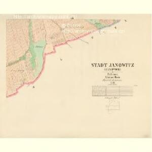 Janowitz (Janowice) - c2763-1-005 - Kaiserpflichtexemplar der Landkarten des stabilen Katasters
