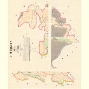 Taschowitz - c7844-1-001 - Kaiserpflichtexemplar der Landkarten des stabilen Katasters