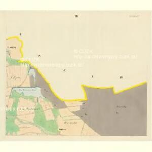 Pranischen - c0462-1-002 - Kaiserpflichtexemplar der Landkarten des stabilen Katasters