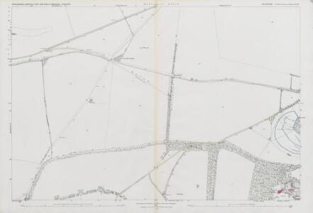 Wiltshire LV.14 (includes: Amesbury; Bulford; Cholderton; Newton Toney) - 25 Inch Map