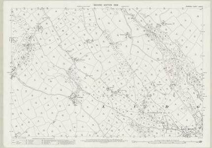 Cornwall LXVIII.11 (includes: Ludgvan) - 25 Inch Map