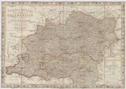 General- Post und Strassen-Karte des Erzherzogthums Oesterreich