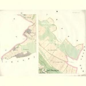 Gross Strzebegzin (Welka Střebegčyna) - c8061-1-002 - Kaiserpflichtexemplar der Landkarten des stabilen Katasters