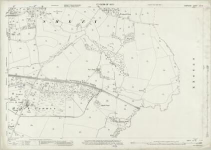 Hampshire and Isle of Wight LIII.13 (includes: Buriton; Harting; Petersfield; Rogate; Steep) - 25 Inch Map