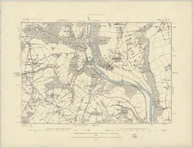 Shropshire LI.SW - OS Six-Inch Map