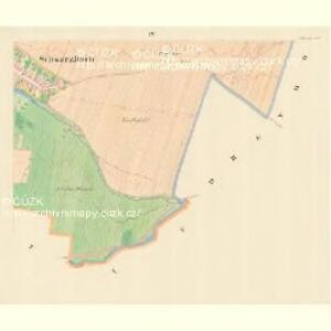 Schwarzbach (Czerny) - m0387-1-004 - Kaiserpflichtexemplar der Landkarten des stabilen Katasters